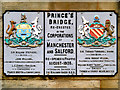 SJ8297 : Prince's Bridge, Manchester-Salford by David Dixon