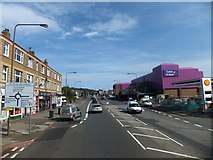NT1972 : The big purple store at Drumbrae Roundabout by David Smith