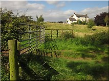 SJ8931 : North Pirehill Farm by Derek Harper