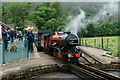 NY1700 : River Mite at Dalegarth Station by Peter Trimming