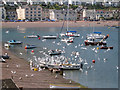 SX9372 : Inshore fishermen land their catches, Teignmouth by Robin Stott