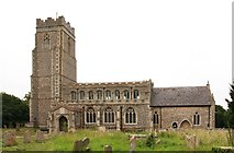 TL8866 : Holy Innocents, Great Barton by John Salmon