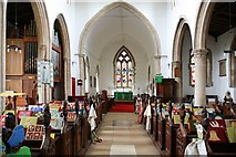 TL8866 : Holy Innocents, Great Barton - East end by John Salmon