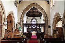 SK2572 : Interior, St Anne's church, Baslow by J.Hannan-Briggs