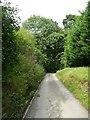 SE0026 : Carr Lane above the railway bridge by Humphrey Bolton