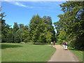 SU9722 : Petworth House, pleasure gardens by Alan Hunt