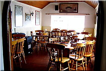 M2208 : The Burren - R477 - Ballyvaghan - Monk's Seafood Restaurant Dining Area by Suzanne Mischyshyn