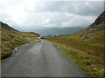 NY2201 : Looking west from the top of Hardknot Pass by Ian S
