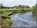 SK8055 : Below Nether Lock Weir  by Alan Murray-Rust