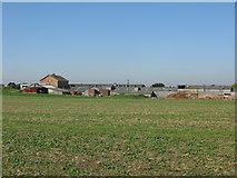 TR2955 : Hammill brickworks from Eastry parish boundary by Nick Smith