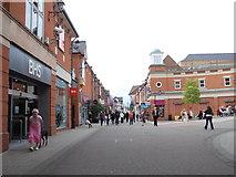 SK3871 : Vicar Lane - St Mary's Gate by Betty Longbottom