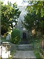 TR1557 : Canterbury - St Martin's Church - Tower by Rob Farrow