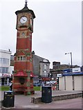 SD4364 : Morecambe Clock Tower by Gordon Griffiths