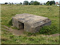 TF6636 : WWII Pillbox near Heacham Harbour by Richard Humphrey