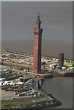 TA2711 : Grimsby Docks and Dock Tower: aerial by Chris