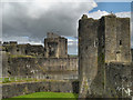 ST1586 : Caerphilly Castle by David Dixon