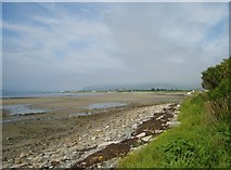 J2510 : Exposed sands in Carlingford Lough at low tide by Eric Jones