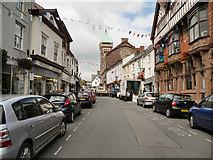 SO2914 : Abergavenny, Cross Street by David Dixon