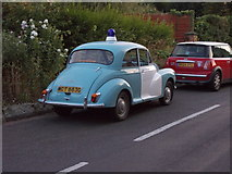 SK4003 : Police Car - parked near Police Station - Shenton Lane by Betty Longbottom