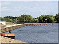 SK7653 : Averham Weir  by Alan Murray-Rust
