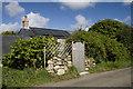 SW4029 : House at Grumbla by Elizabeth Scott