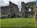 SO2913 : The Great Hall, Abergavenny Castle by David Dixon