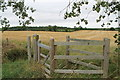 TF0725 : Entrance to Public Footpath at Stainfield by J.Hannan-Briggs
