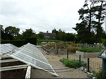 TQ1352 : Flower and vegetable garden Polesden Lacey by Dave Spicer