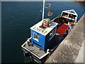 NT9267 : Leith Registered Fishing Boats : Harvester (LH597) at St. Abbs Harbour by Richard West