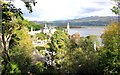 SH5837 : View across Portmeirion by Jeff Buck