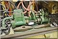 SW4538 : Zennor Museum - boiler pump by Ashley Dace