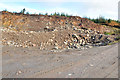 NR9371 : Quarry in the forestry near Millhouse by Steven Brown