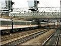 SJ7154 : Railway Station, Crewe by Dave Hitchborne