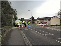 SJ9995 : Ashworth Lane closed by Gerald England