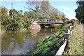 TQ9731 : Bridge over the Royal Military Canal by Julian P Guffogg