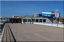 TQ7407 : De La Warr Pavilion roof by Oast House Archive