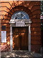 TQ3976 : Entrance, Blackheath Village Post Office by Julian Osley