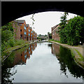 SP0886 : New housing and old factory at Bordesley, Birmingham by Roger  Kidd