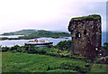 NM8531 : CalMac Ferry departing Oban by Dunollie by Jo Turner