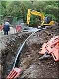 J3629 : The extraction pipeline at Craignagore Bridge by Eric Jones