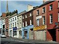 J2664 : Vacant shops, Lisburn (2) by Albert Bridge