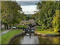 SJ9688 : Peak Forest Canal, Lock#15 by David Dixon