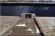 NH3470 : Dam wall, Loch Glascarnoch by Jim Barton