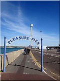 SY6878 : Welcome to the Pleasure Pier, Weymouth by Roy Hughes