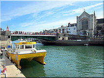 SY6778 : Town Bridge, Weymouth by Roy Hughes