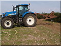 TL1183 : Mole plough by Michael Trolove