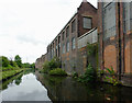 SP0985 : Canalside factory buildings near Sparkbrook, Birmingham by Roger  Kidd
