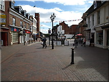 SJ9223 : Greengate  Street, Stafford by Tim Marshall