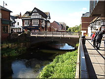 SJ9223 : Bridge over River Sow, Stafford by Tim Marshall