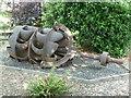 SX8060 : Totnes - former water turbine by Chris Allen
